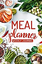 Meal Planner: 52-Week Meal Planning Organizer with Weekly Grocery Shopping List and Recipe Book
