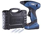 Ferm GGM1003 Pistola de pegamento-7.2V-1.5Ah – Batería litio-ion, 10.8 W, 7.2 V, Azul