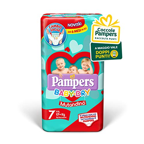 Pampers Baby Dry Maxi Taglia 7