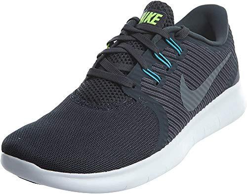 Nike Free RN Commuter da Lauchuhe, Scarpe Running Donna, Blu Squadron Blau Heritage Cyan Hyper Violett Dunkel Obsidian Weiß, 37.5 EU