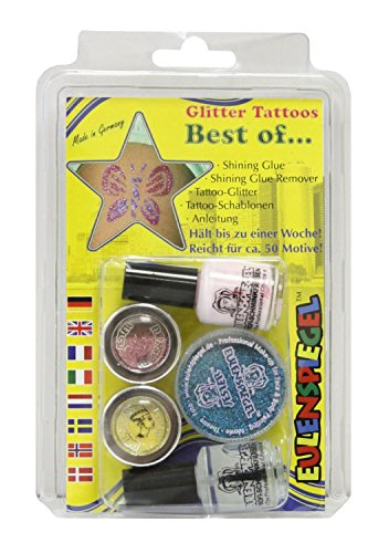Eulenspiegel 730515 Glitter Tattoo Set Best of