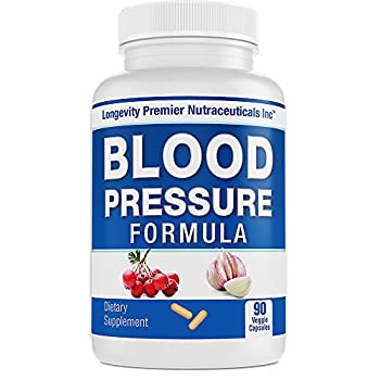 Longevity Blood Pressure Formula [90 Capsules]
