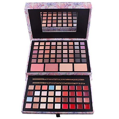 PhantomSky 85 Farben Lidschatten Palette Makeup Kit mit Lipgloss, Concealer, Pulver und Rouge -...