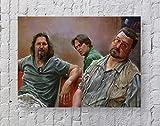 MeiMeiZ The Big Lebowski Filmposter Standardgröße | 45,7