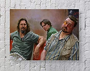 Lebowski Movie Poster Standard Size | 18-Inches by 24-Inches | Big Lebowski Posters Wall Poster Print