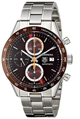 TAG Heuer Men's CV2013BA0794 Carrera Brown Dial Watch