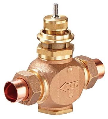 "Johnson 1/2"" globe valve 4.6CV union, normally-open by Johnson Controls, Inc."
