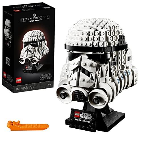 LEGO 75276 Star Wars Casco de Soldado de Asalto, Set de Construcción para Adultos Modelo de Coleccionista