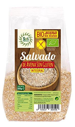 Solnatural Salvado De Avena Sin Gluten Bio 300 Gramos Envase De 300 Gramos 300 ml