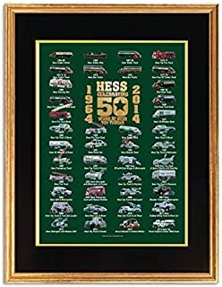 Hess Toy Truck 50th Anniversary Poster