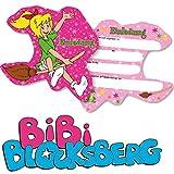 Bibi Blocksberg 6 Einladungskarten Kinderparty und Kindergeburtstag von DH-Konzept // Hexe Streiche Einladungen Invites Party Set Marita Florian Moni