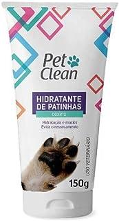 Hidratante para patinhas cães e gatos coxins e cotovelos Pet Clean 150g