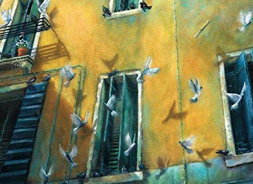 Postkarte A6 • 63011 ''Venedig'' von Inkognito • Künstler: Britta Gotha • Fantastik