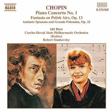 CHOPIN: Piano Concerto No. 1 / Fantasia on Polish Airs / Andante Spianato