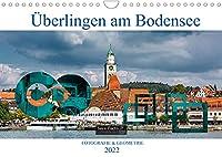 Ueberlingen am Bodensee - Fotografie + Geometrie (Wandkalender 2022 DIN A4 quer): Grosse Kreisstadt Ueberlingen in Bildern (Monatskalender, 14 Seiten )