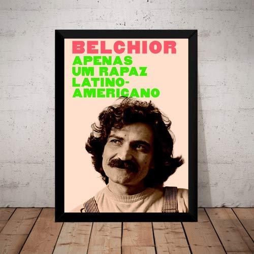 Quadro Belchior Apenas Um Rapaz Latino Americano
