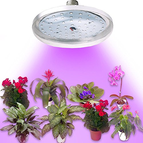 Bonlux Medium Base E26 E27 Led Plant Grow Light Full Spectrum Led Grow Lights...
