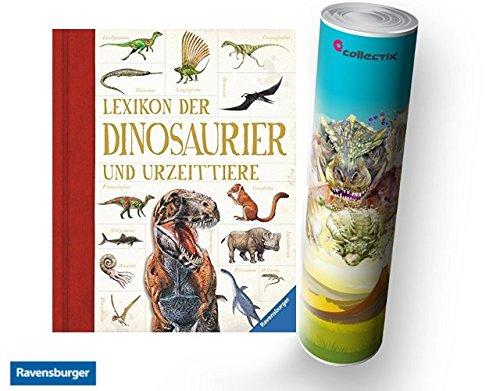 Ravensburger - Lexikon der Dinosaurier und Urzeittiere + Kinder Dinosaurier Poster by Collectix