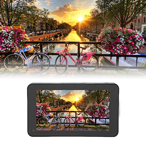 Monitor De Campo De Cámara R6 De 5.5 Pulgadas, Monitor HDR De 1080P Compatible con Control Táctil De Pantalla Completa para Fotografía, Disparo, Entrada/Salida 4K HD, con Tarjeta De Memoria