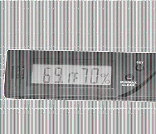 Lifestyle-Ambiente Caliber IV Präzisions-Hygrometer +/-1{5799c6d0db1081ef88e33760c0b7f6db3daf1eff15b140ed6081ddc81434ff4e} RF