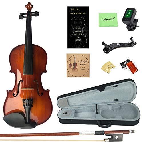 Musical Instruments Esound 1/4 MB2 Solid Wood Satin Antique Violin ...