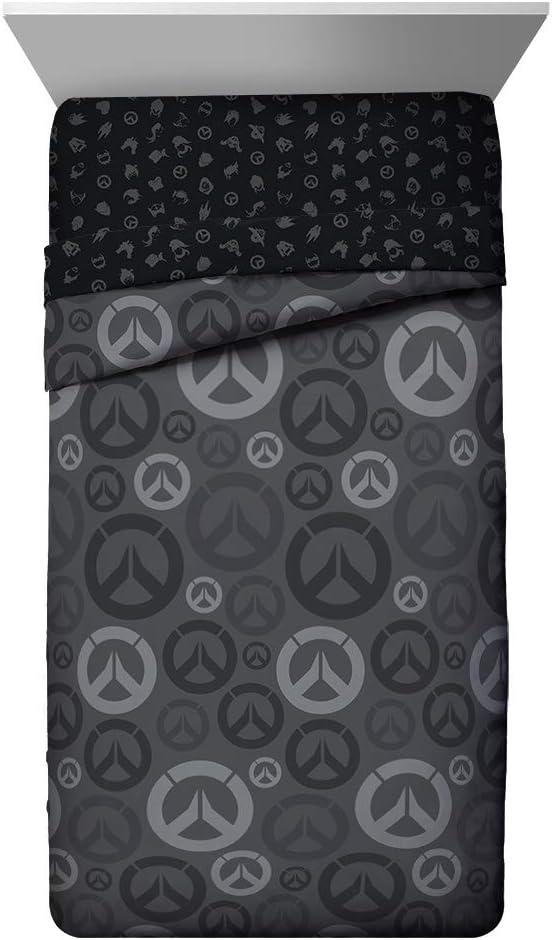 14. Overwatch Heroes Twin Comforter