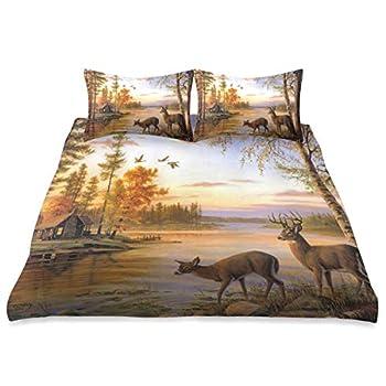 Best deer comforter sets queen Reviews