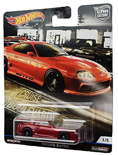 Hot Wheels Car Culture Toyota Supra 1/5, red