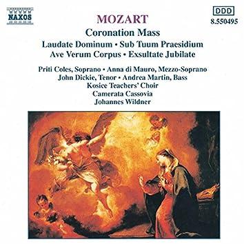 Mozart: Mass No. 16, 'Coronation Mass' / Exsultate, Jubilate / Ave Verum Corpus