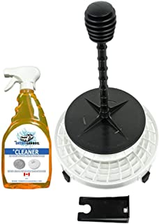DETAIL GUARDZ The Dirt Lock Complete Pad Washer Bundle (White - with Pad Spray Cleaner) Includes Dirt Lock Bucket Filter