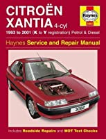 Citroen Xantia Petrol & Diesel (93 - 01) K To Y (Haynes Service & Repair Manual)