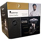 Robot de cocina Multifuncional Master PRO by Carlo Cracco - Robot cocina con: más de 10 funciones incluyendo cocinar, mantecar, picar, mezclar, montar, hervir, capacidad hasta 1,8 L, 6 velocidades