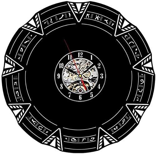 Schallplatte Wanduhr Quarzuhr Star Gate Original Geschenkidee für Sie oder Ihn Original Wand Home Decor 12 Zoll Vinyl Uhr