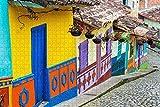LIXB Bogotá, Colombia, 1000 Rompecabezas, decoración del hogar, Juguetes de Ocio para Adultos, Juguetes educativos para niños