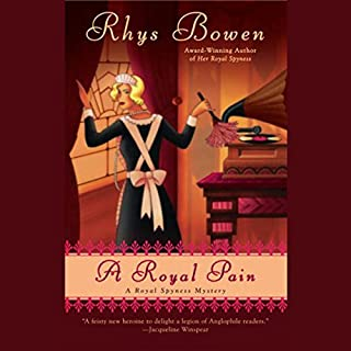 A Royal Pain                   Written by:                                                                                                                                 Rhys Bowen                               Narrated by:                                                                                                                                 Katherine Kellgren                      Length: 8 hrs and 57 mins     13 ratings     Overall 4.5