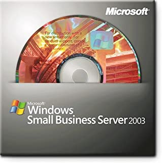 Microsoft Windows Small Business Server 2003 Standard Edition w/SP1 - license and media ( T72-00661 )