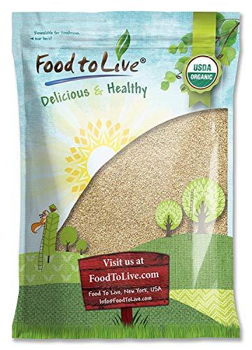 Organic Sesame Seeds, 12 Pounds – Hulled, Non-GMO, Kosher, Raw, Vegan
