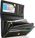 Best Ladies Wallets - Leather Clutch RFID Wallets For Women - Big Review
