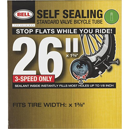 Bell Sports 7073518 26-In. Self-Sealing Bicycle Inner Tube - Quantity 4
