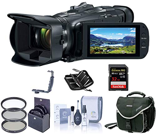 Read About Canon VIXIA HF G50 4K UHD Camcorder, 20x Optical Zoom, Bundle Kit, Slinger Camera Bag + 5...