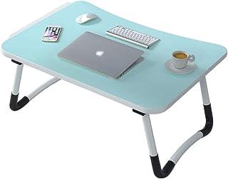 طاولة كمبيوتر محمول قابلة للطي ، سطح طاولة متعدد الأغراض كصينية سرير تقديم الإفطار ، طاولة نزهة صغيرة ، مناسبة للأطفال وال...