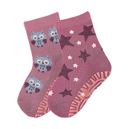 Sterntaler FLI Air DP Socken, 2 Paar,Violett (Helllila), 17-18