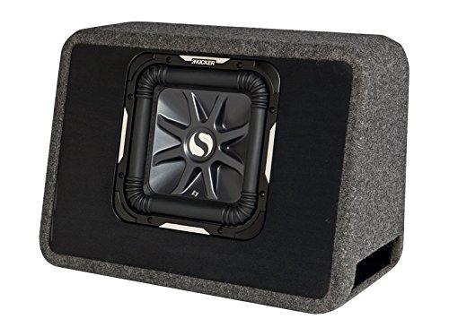 KICKER 11TS10L72 L7 Bassreflexbox Schwarz