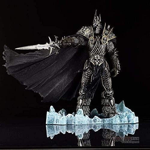 World of Warcraft DC7 Generation Lich King-Arthas Death Knight PVC Modelo de personaje Juguete de regalo 21 cm (8.26 pulgadas)