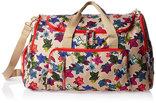 Vera Bradley Lighten Up Ultimate Gym, Falling Flowers Neutral