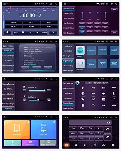 Navegación del coche, 10 pulgadas Android 8.1 2.5D Full Touch para ...