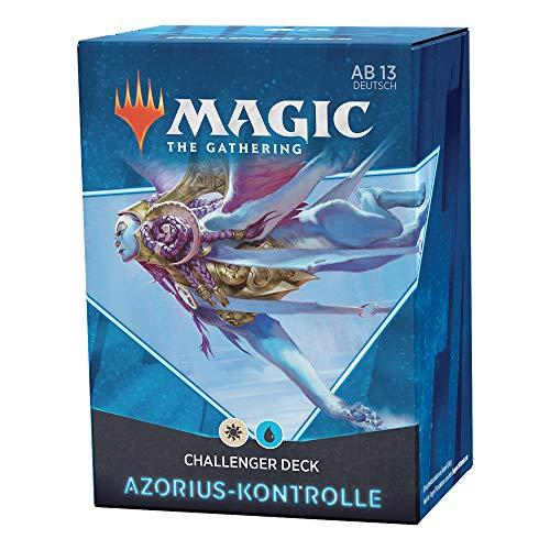 Magic the Gathering C91191000 Challenger Deck 2021 – Azorius-Kontrolle (Blau-Weiß)