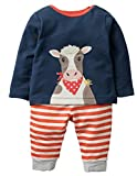Fiream Boys Cotton Long Sleeve Sweatshirts Set(Rocket,5)
