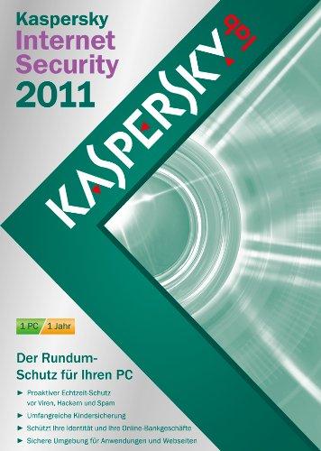 Kaspersky Internet Security 2011 (DVD-Box / inklusive kostenlose Upgrademöglichkeit auf Version 2013)