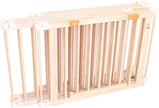 Wooden Baby Playpen, Portable Playard Play Pen with Door, Home Indoor Outdoor Safety Activity Center Fence (Size : 120×180cm)